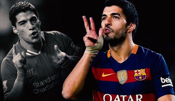 """Suarez """"dibajak"""" Barcelona"""