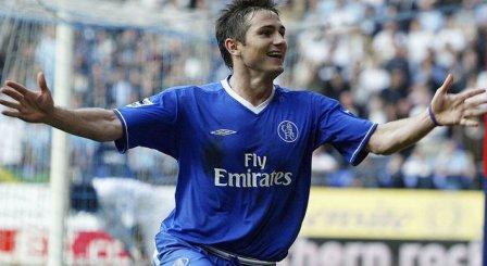 Lampard Chelsea Vs Bolton