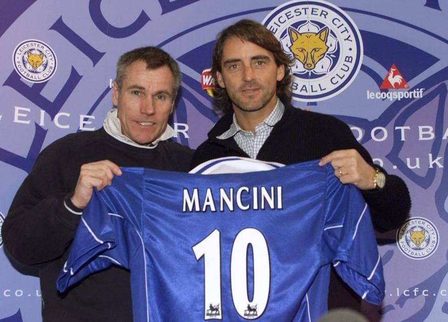 Roberto Mancini akan tukangi leicester city?