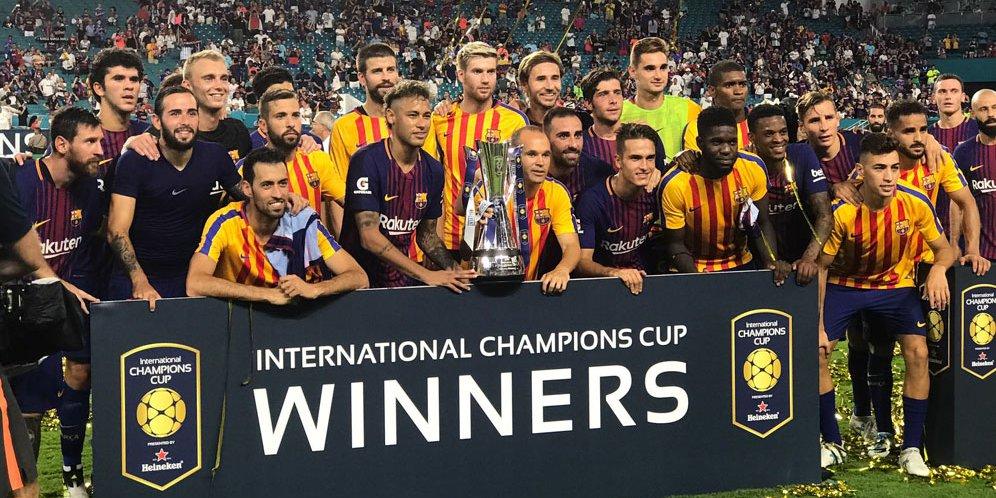 Barcelona Juara ICC 2017
