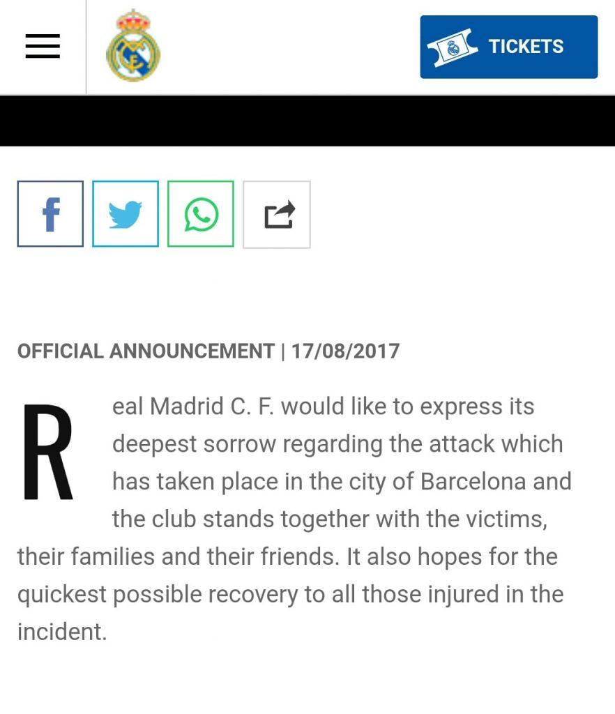 Teror Barcelona