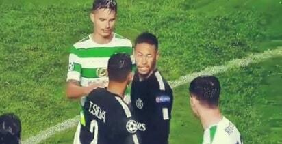 Insiden Neymar Ralston, Bek Celtic