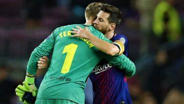 Messi dan Stegen jadi kunci sukses Barcelona