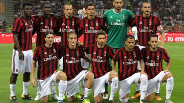 AC Milan V KF Shkendija 79 UEFA Europa League Qualifying Play Offs Round: First Leg
