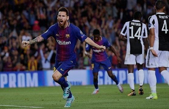 Messi Brace Gol Min