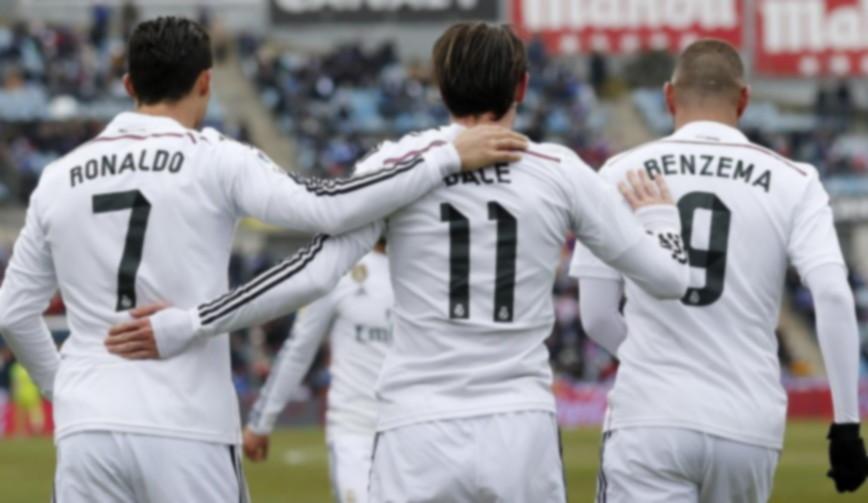 Trio BBC Real Madrid Picsay