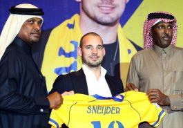 Ct 90mins Happy Sneijder Unveiled By Qatars Al Gharafa 20180108