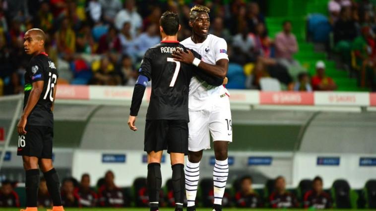 Paul Pogba And Ronaldo